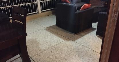 Our terrazzo work at a private residence