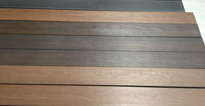 We have various wood decking options. Come check them out.